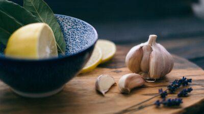 Alho e limão para regenerar o corpo