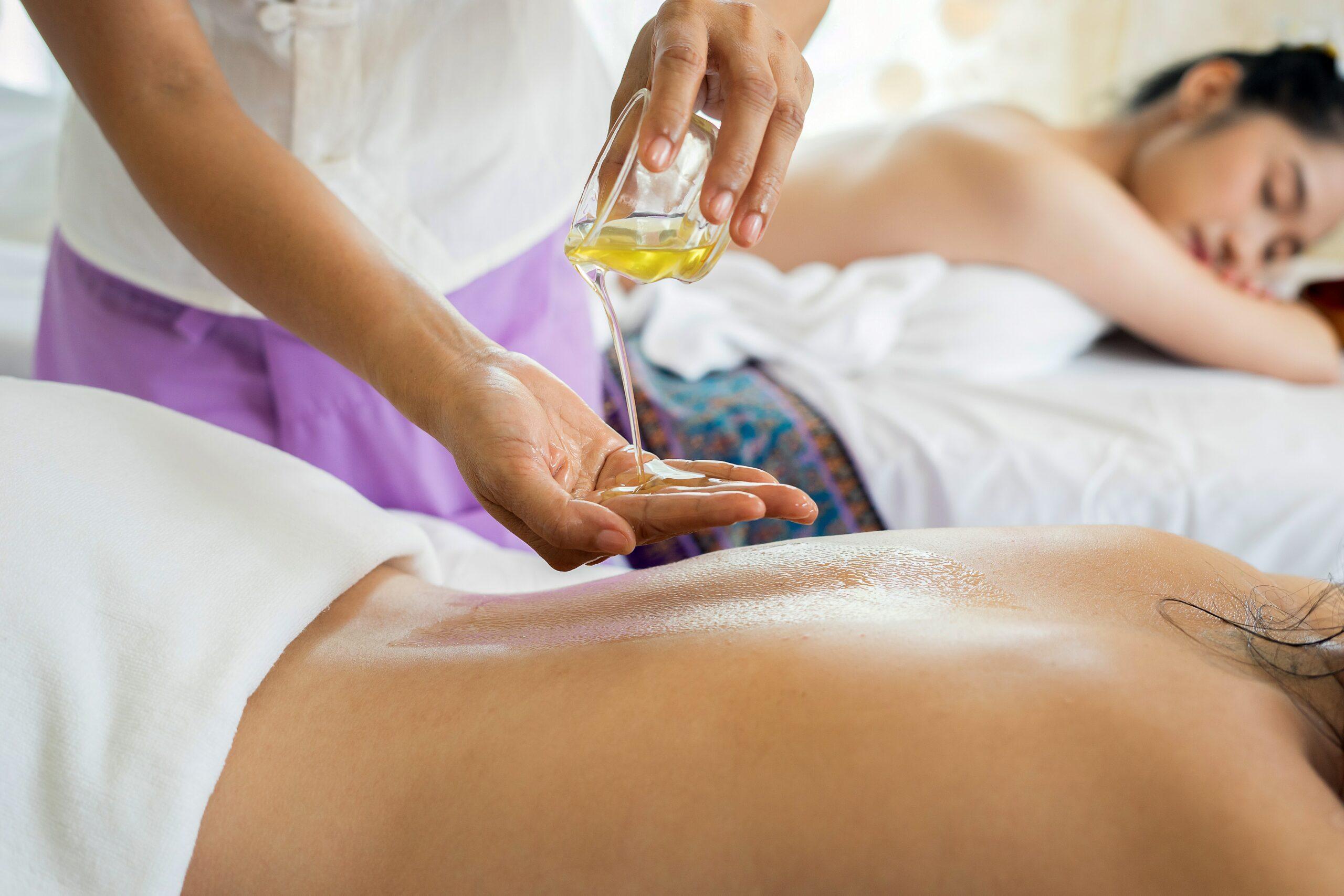 como fazer oleos de massagem